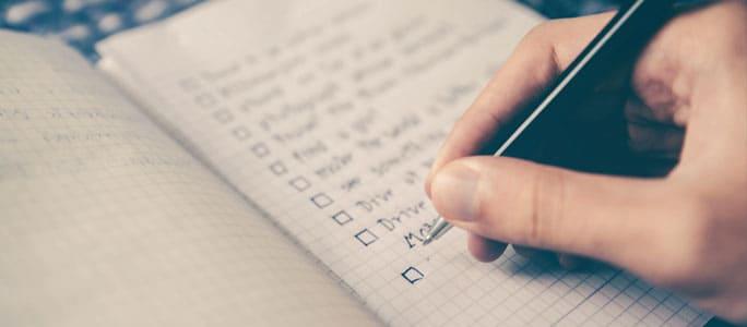 Weekly Home Maintenance Checklist